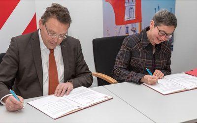 Die Universitäten Groningen und Hamburg erweitern ihre Zusammenarbeit