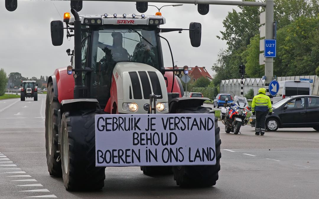 Strafe für demonstrierende Landwirte