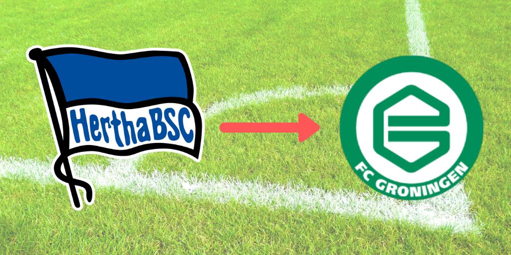 Hertha BSC leiht Redan nach Groningen aus