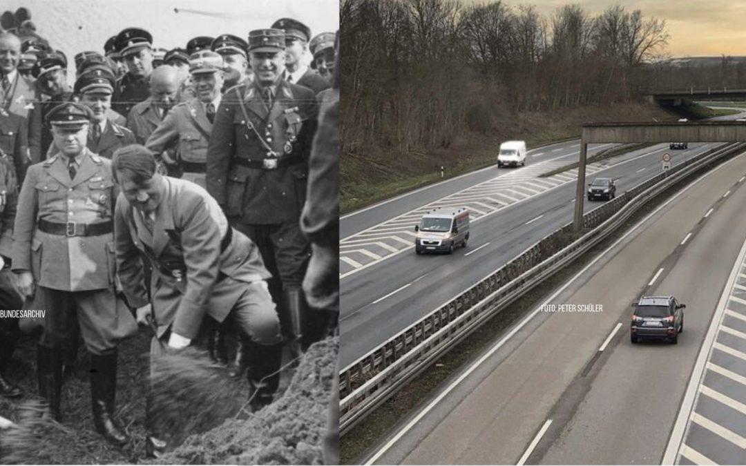 Warum viele Menschen immer noch glauben, dass Hitler die Autobahn erfunden hat