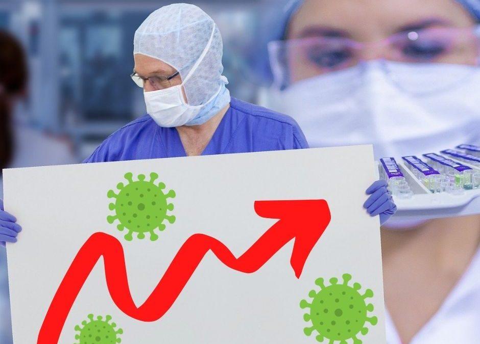 Aantal coronabesmettingen in Nederland stijgt opnieuw flink