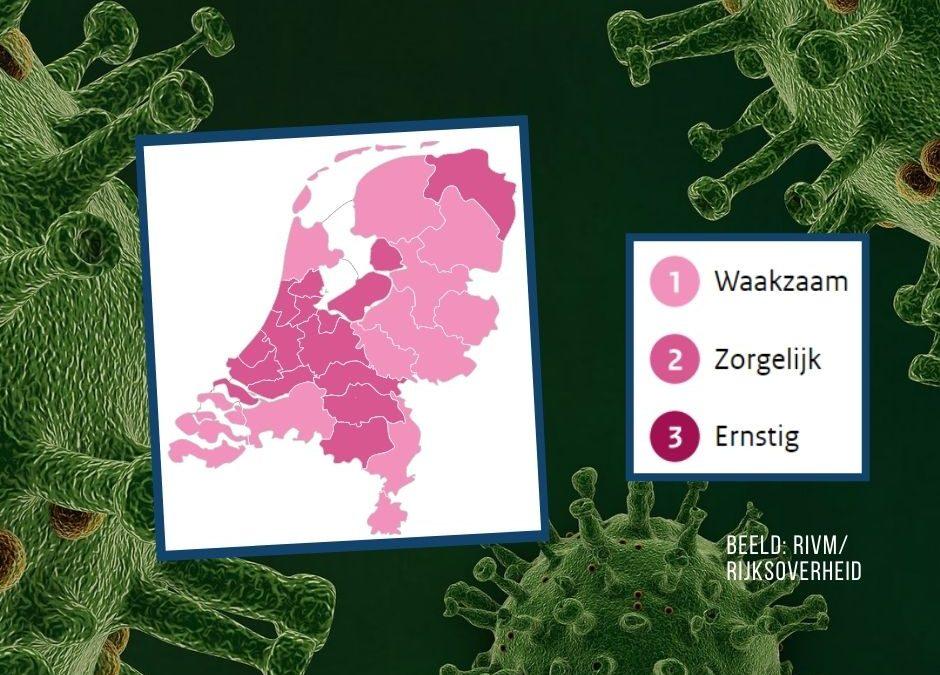 Corona-alarm voor provincie Groningen; situatie coronavirus nu 'zorgelijk'