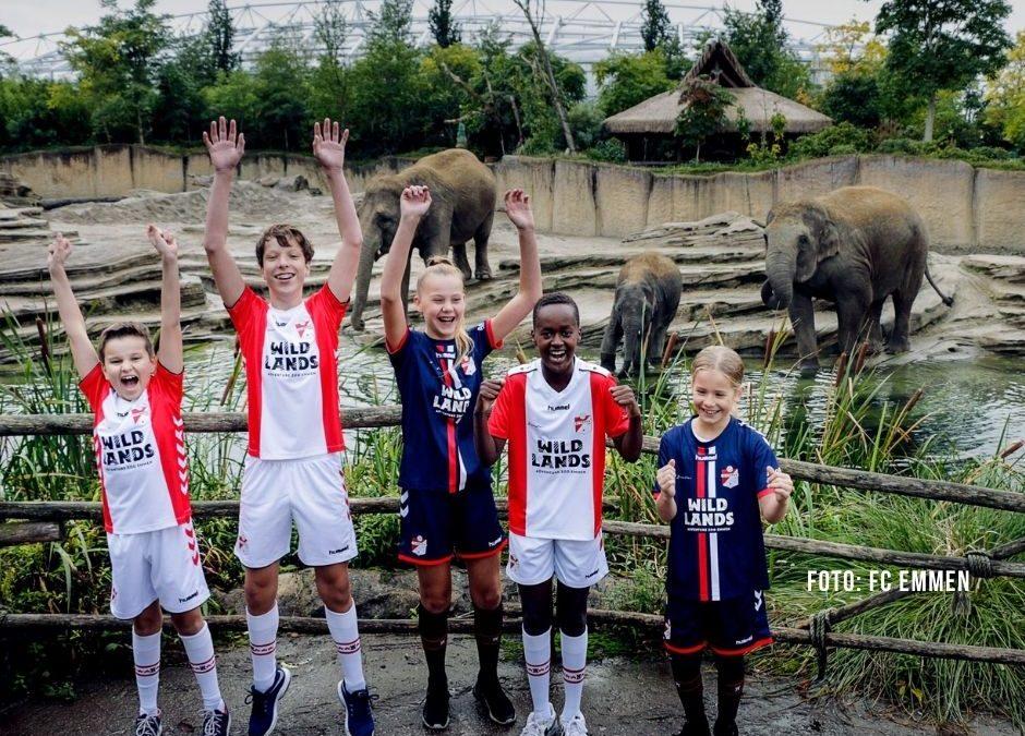 Erotiekgigant schenkt sponsorpositie op jeugdshirts FC Emmen aan dierentuin