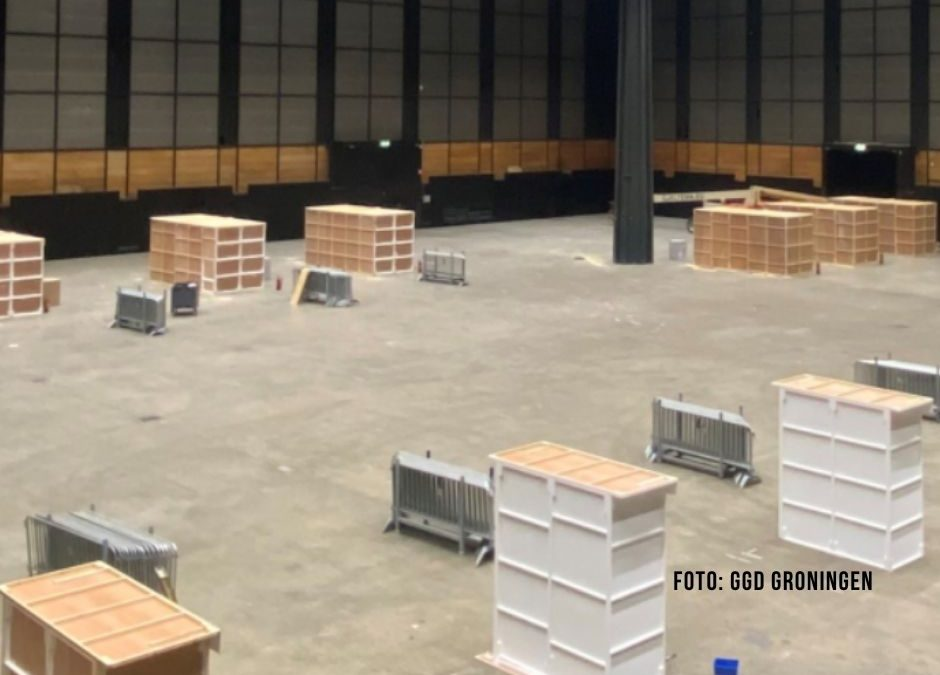 In Groningen künftig Corona-Tests am Fließband möglich