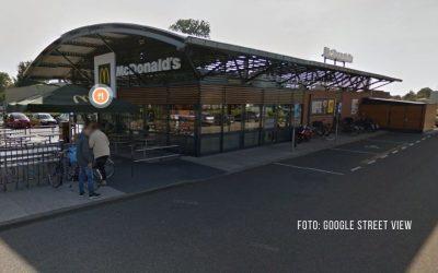 McDonald's Stadskanaal in Schutt und Asche
