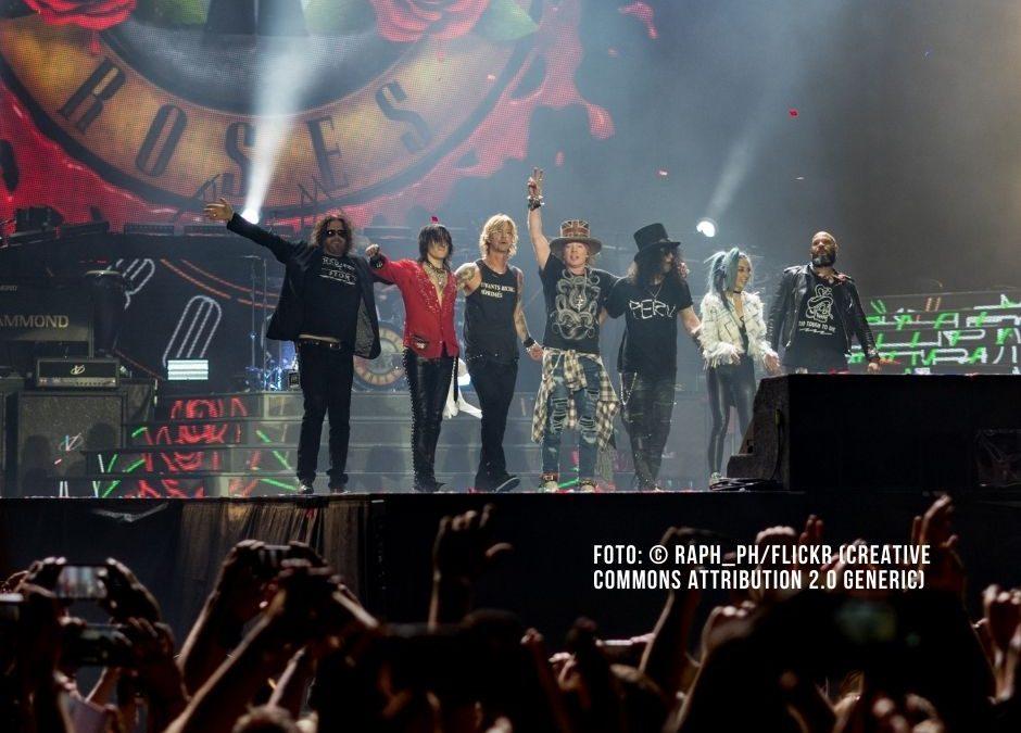Guns N' Roses kommen 2022 nach Groningen