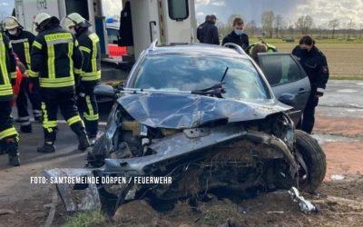 59-Jähriger stirbt bei schwerem Unfall