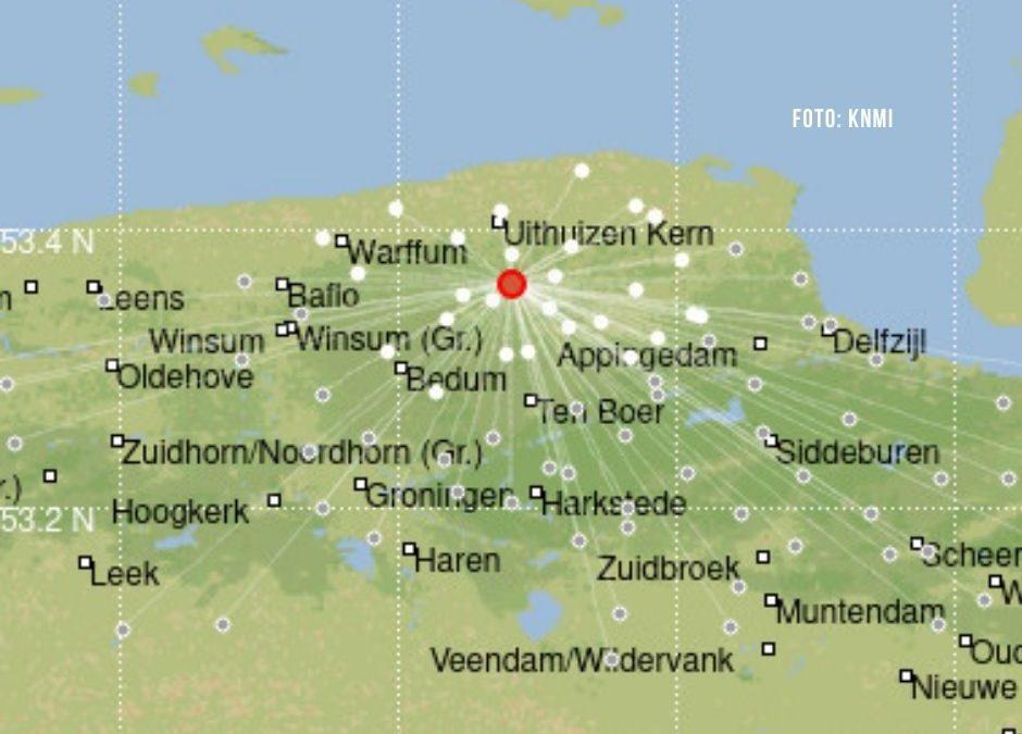Groninger bodem trilt bij Huizinge: aardbeving van 2,3 op schaal van Richter