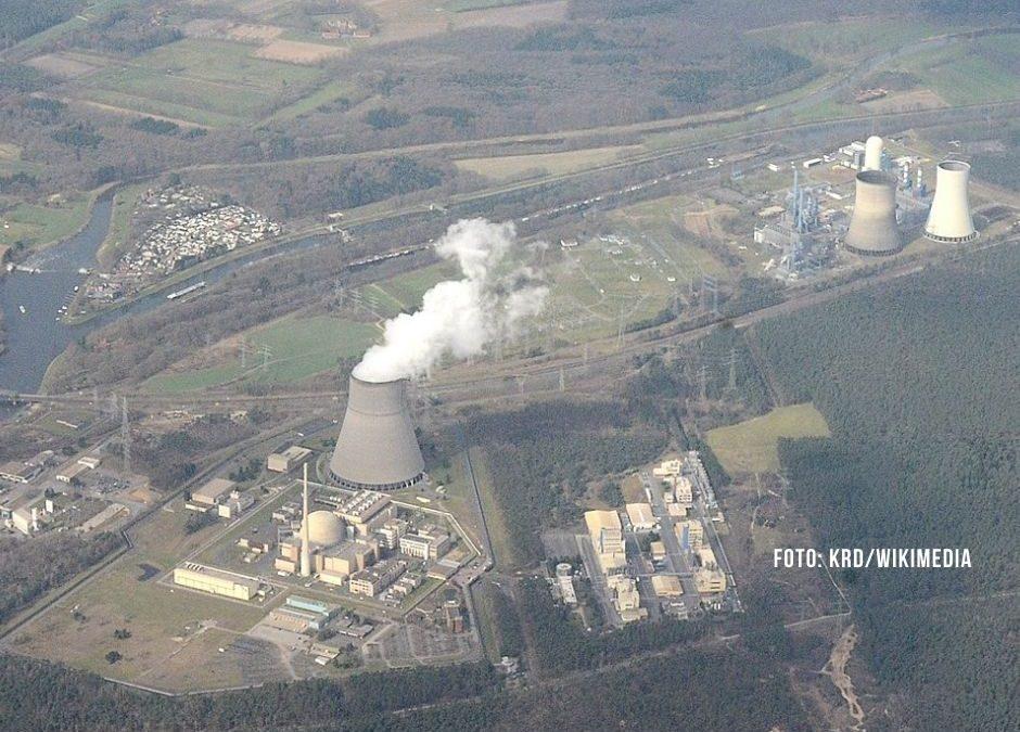 Kerncentrale Lingen dicht voor plaatsing nieuwe brandstofelementen