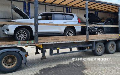 Jagd nach Autoschiebern: Gestohlene Fahrzeuge tauchen in Kiel wieder auf