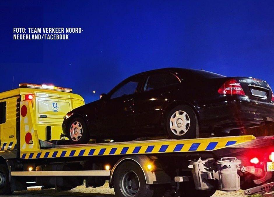 100 km/h zu schnell im gestohlenen Mercedes