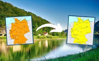 Van oranje naar geel: Nederlanders kunnen weer naar Duitsland op vakantie