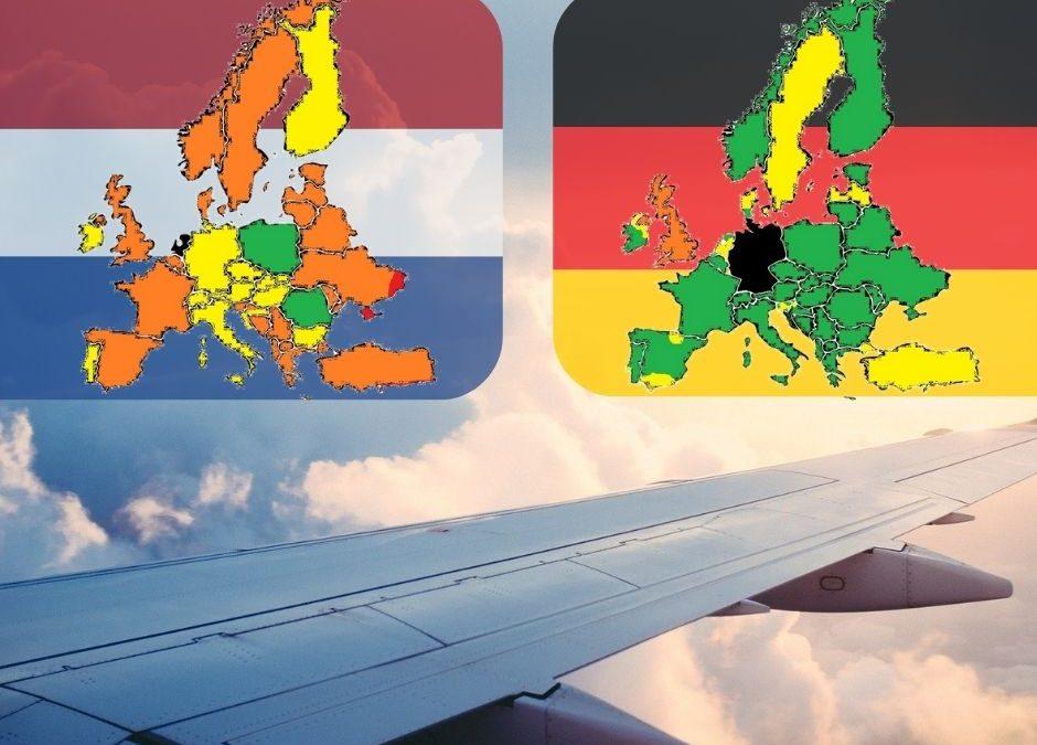 Duitse en Nederlandse reisadviezen opnieuw een wereld van verschil