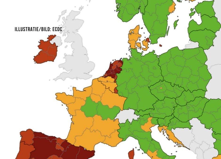 Infektionszahlen in den Niederlanden dreißigmal höher als in Deutschland