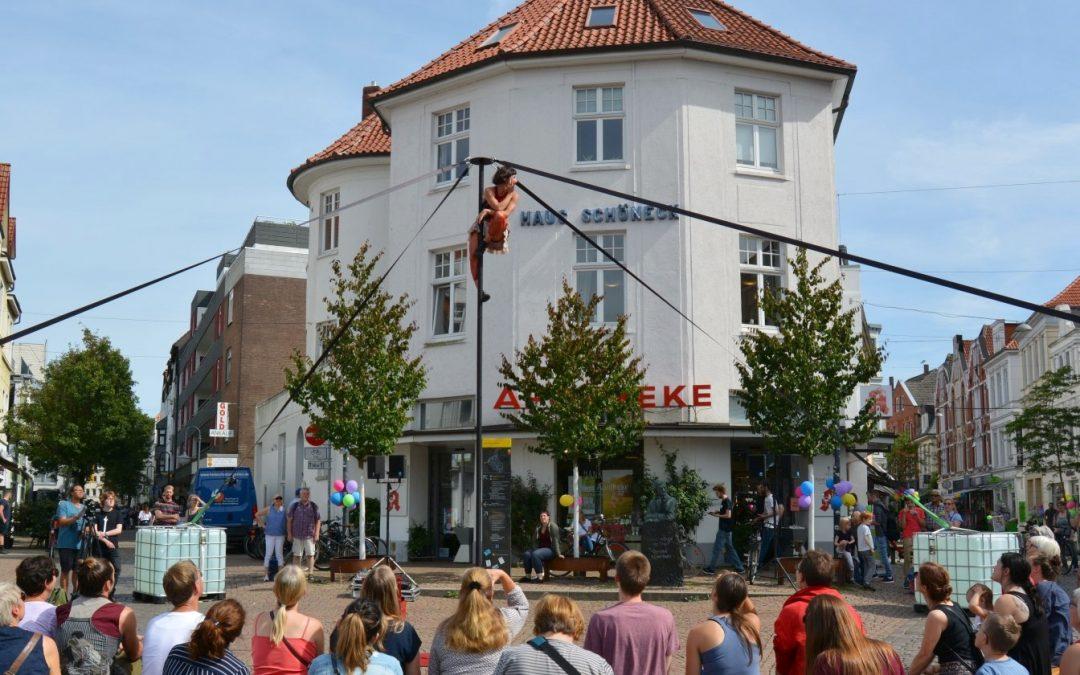 Kleinkunstfestival in der Oldenburger Innenstadt